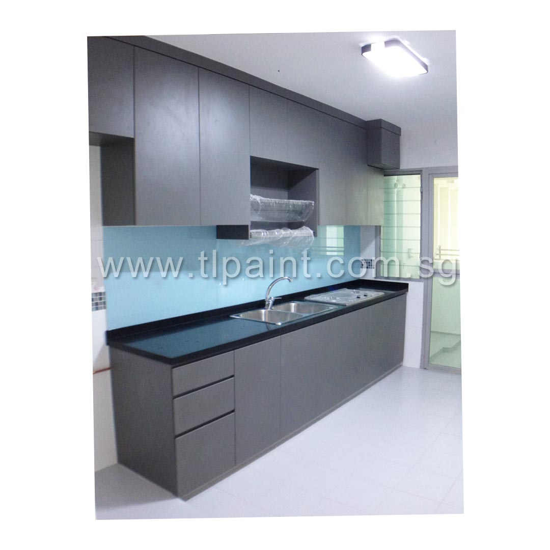 Kitchen Backsplash Singapore blue kitchen backsplash turns white painted walls blue | tlpaint
